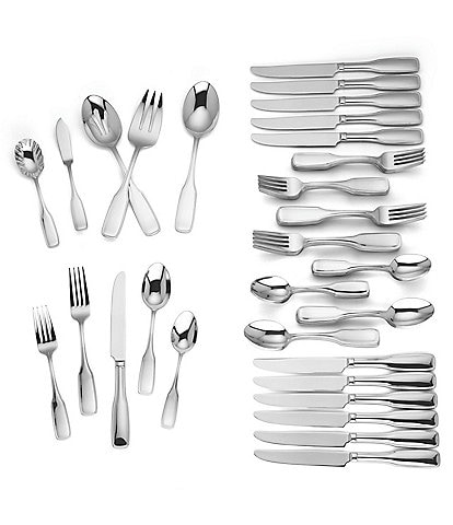 Reed & Barton Josephina 65-Piece Stainless Steel Flatware Set