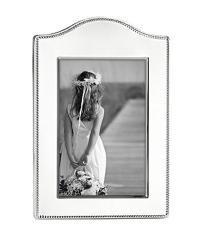 Reed & Barton Lyndon Curved Silver Picture Frame