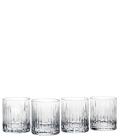Reed & Barton Soho Crystal 4-Piece Double Old Fashioned Glass Set