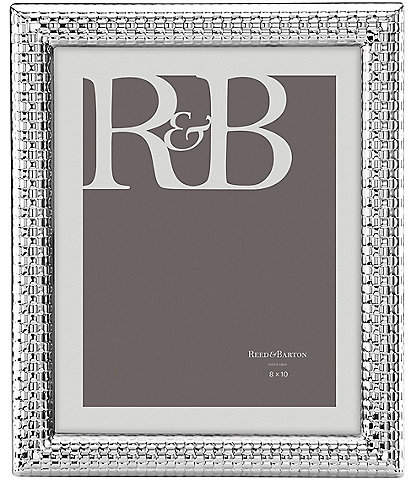 Reed & Barton Watchband Silver Picture Frame