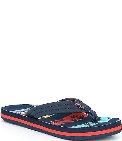 Reef Boys' Ahi Water-friendly Flip Flops Youth