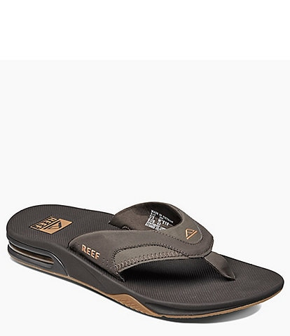 69346dce4a41 Reef Men s Fanning Thong Sandals