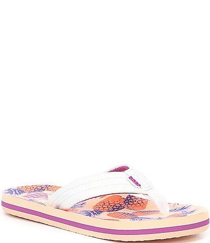 Reef Girls ' Ahi Pineapples Flip Flops (Youth)