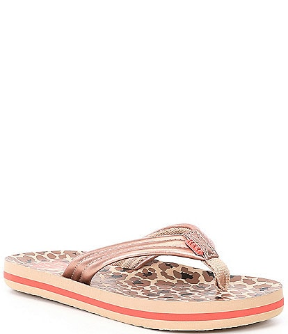 Reef Girls' Ahi Flip Flops (Youth)