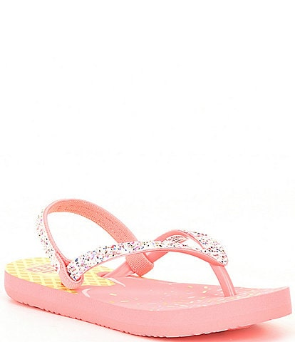 Reef Girls' Little Stargazer Flip Flops (Infant)