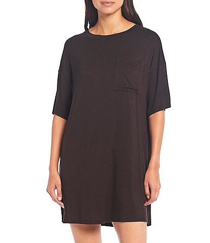 Refinery29 Solid Jersey Sleep Shirt