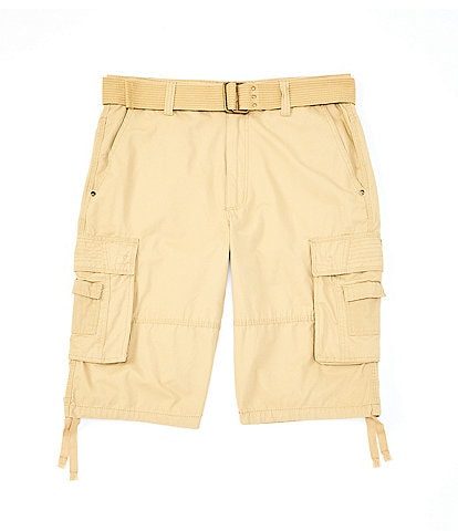 Request Jonah Belted Cargo 13#double; Inseam Shorts