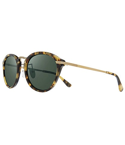 Revo Quinn Round Polarized 50mm Sunglasses