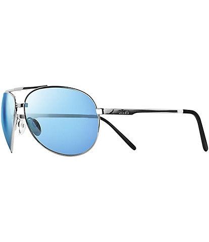 Revo Thirty- Five LTD Polarized Folding Aviator 65mm Sunglasses