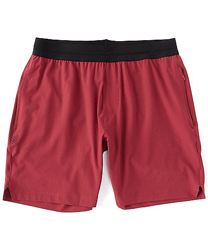 RHONE Mako Tech 7#double; Inseam Shorts