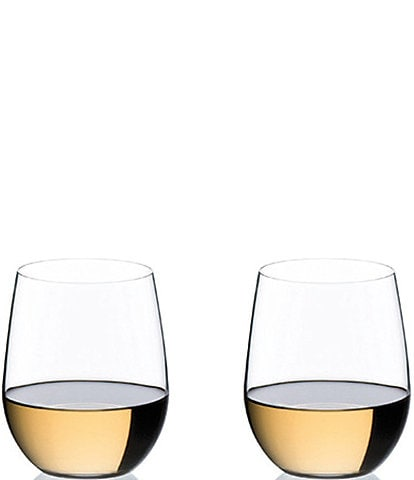 Riedel #double;O#double; Wine Tumbler Viognier/Chardonnay Glass, Set of 2