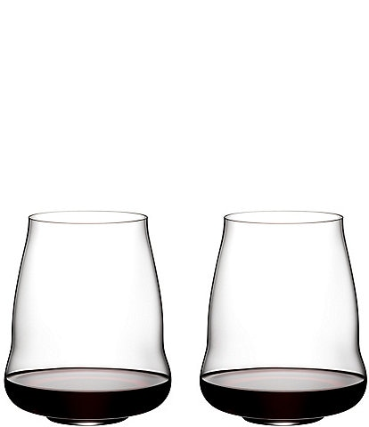 Riedel Stemless Wings Cabernet Sauvignon Glasses, Set of 2