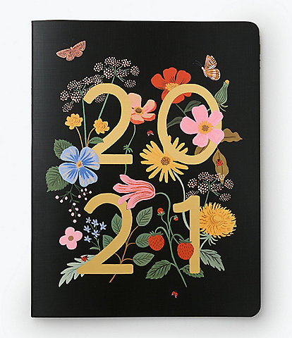Rifle Paper Co. Wild Garden 2021 12-Month Appointment Notebook