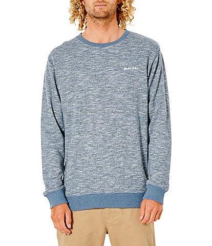 Rip Curl Core Slub Terrycloth Long-Sleeve Pullover