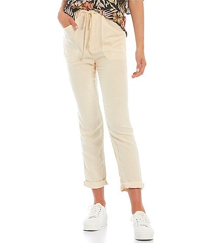 Rip Curl Panoma Rolled-Cuff Pants