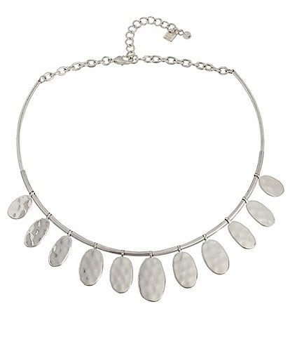 Robert Lee Morris Soho Disc Collar Necklace