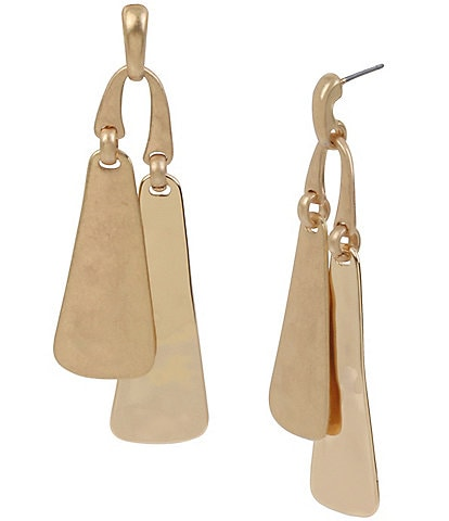 Robert Lee Morris Soho Geometric Bar Drop Earrings