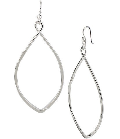 Robert Lee Morris Soho Large Oval Drop Earrings