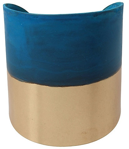 Robert Lee Morris Soho Patina Wide Cuff Bracelet