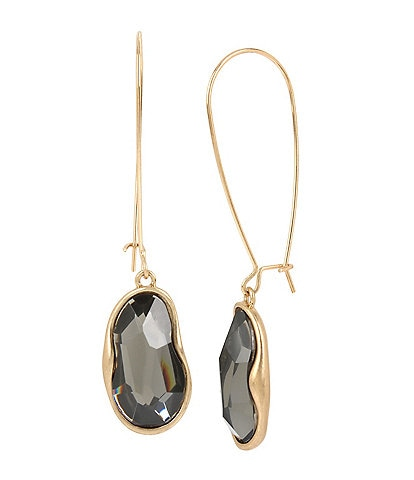 Robert Lee Morris Soho Stone Long Drop Earrings