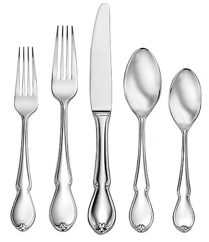 Robinson Cape Elizabeth 5-Piece Stainless Steel Flatware Set