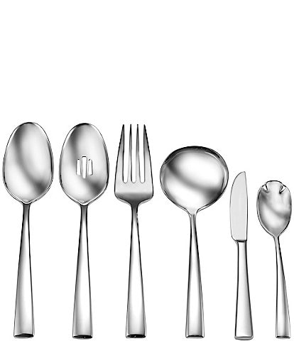 Robinson Leverett 6-Piece Stainless Steel Serving Set