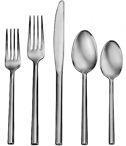 Robinson Living by Robinson Satin Henway 58-Piece Stainless Steel Flatware Set