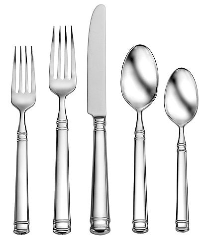 Robinson Pemberton 5-Piece Stainless Steel Flatware Set