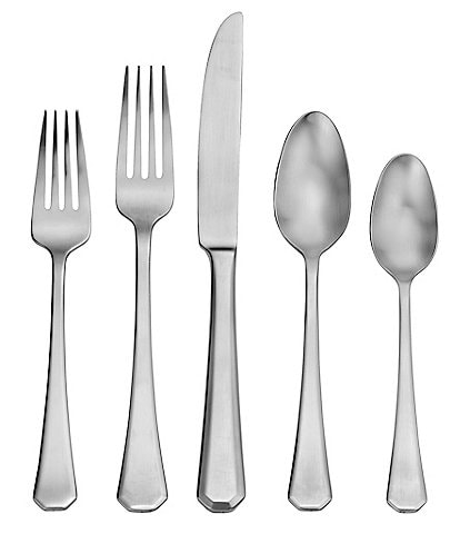 Robinson Satin Redding 65-Piece Stainless Steel Flatware Set