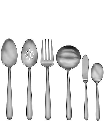 Robinson Satin Valley Falls 6-Piece Stainless Steel Serving Set