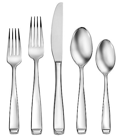 Robinson Torrington 65-Piece Stainless Steel Flatware Set