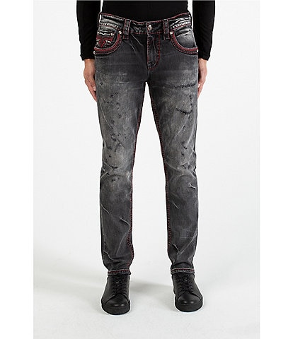 Rock Revival Clifton Tapered-Fit Denim Jeans