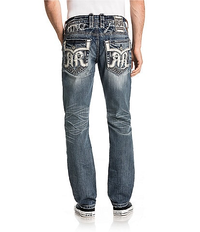 Rock Revival Nikola Alternate Straight Fit Jeans