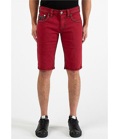 Rock Revival Rigid Tame Red H200 12#double; Inseam Shorts