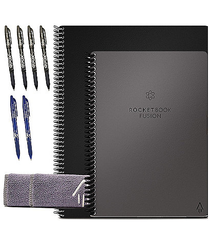 Rocketbook Fusion Smart Reusable Notebook Bundle