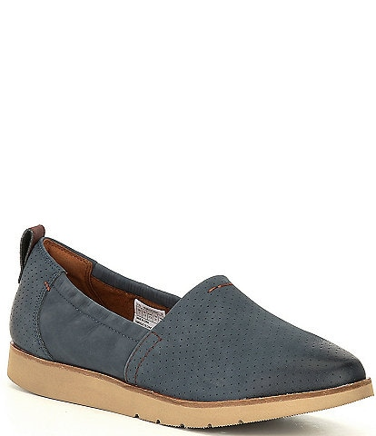 Rockport Cobb Hill Laci Suede Slip-Ons