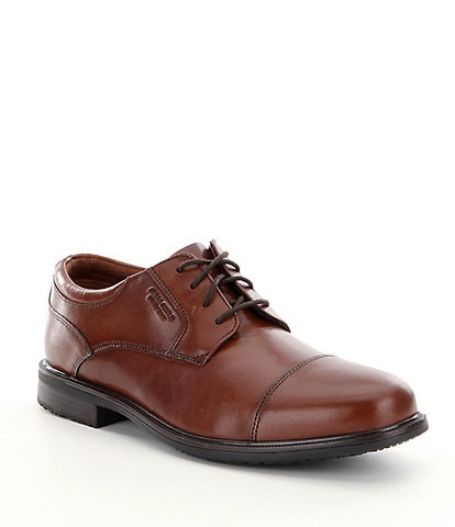 Rockport Men's Essential Details II Waterproof Cap Toe Shoes
