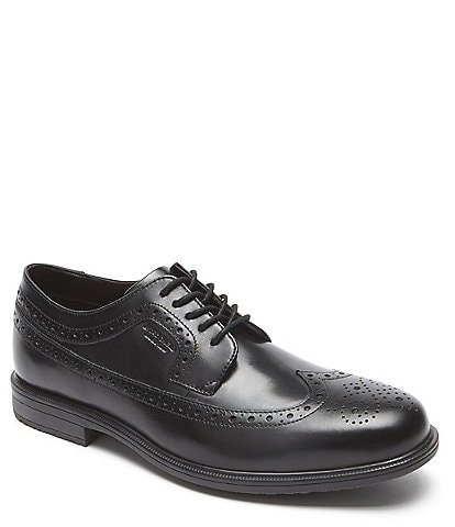 Rockport Men's Essential Details II Waterproof Wingtip Dress Shoes