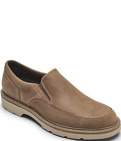 Rockport Men's Charlee Waterproof Leather Slip Ons