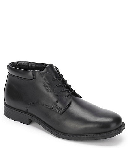 Rockport Men's Esntial Detail Waterproof Leather Chukka Boot