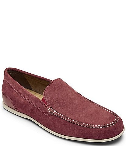 Rockport Men's Malcom Suede Venetian Loafers