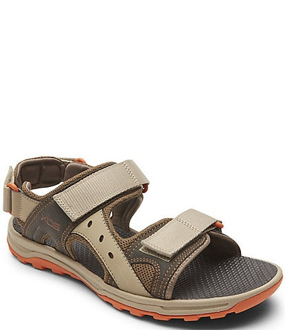 Rockport Men's Trail Technique Adjustable Sandals
