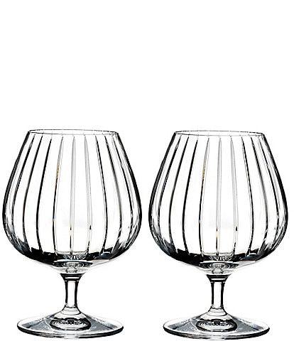 Rogaska Avenue Brandy Glasses, Set of 2