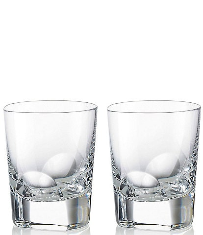 Rogaska Manhattan Double Old Fashioned Glasses, Set of 2
