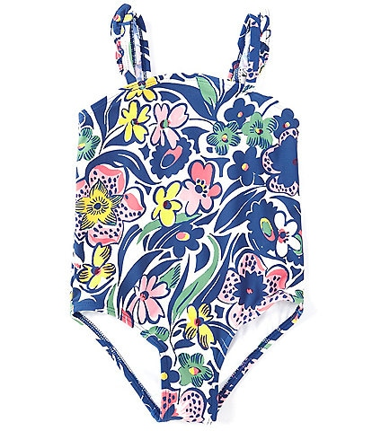 Roller Rabbit Baby Girls 12-24 Months Family Matching Cha Chas Floral One-Piece Swimsuit
