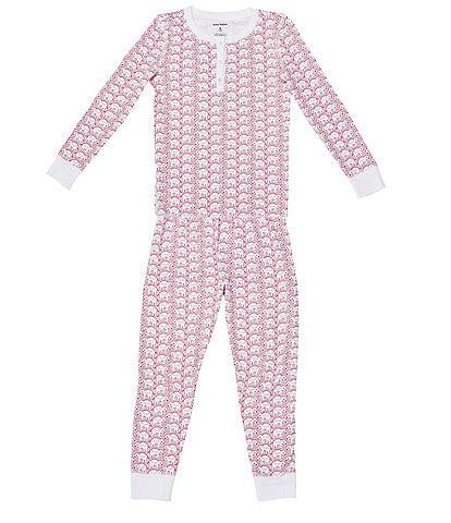 Roller Rabbit Baby/Little Kids 12 Months-6 Family Matching Hathi 2-Piece Elephant Print Pajama Set