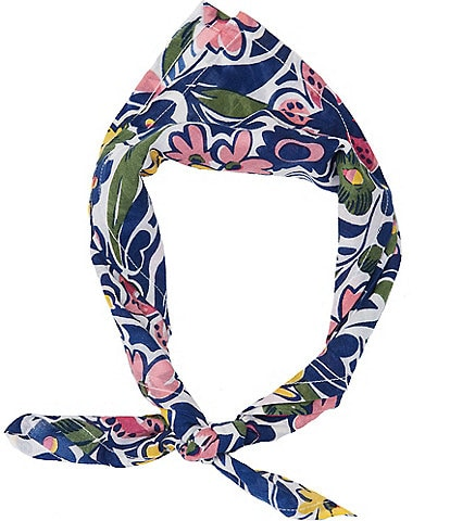Roller Rabbit Floral Chachas Bandana