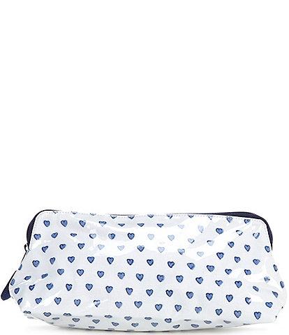 Roller Rabbit Hearts Small Makeup Bag