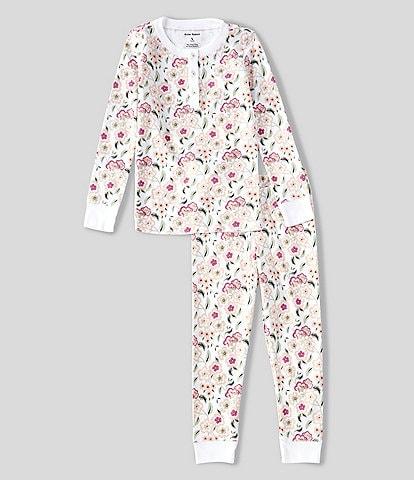 Roller Rabbit Little Kids 2-8 Gardenia Print 2-Piece Pajama Set