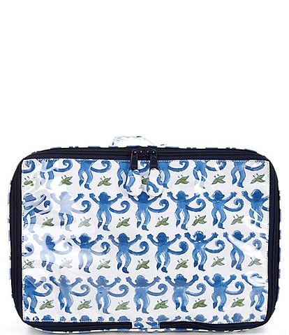 Roller Rabbit Monkey Mini Suitcase